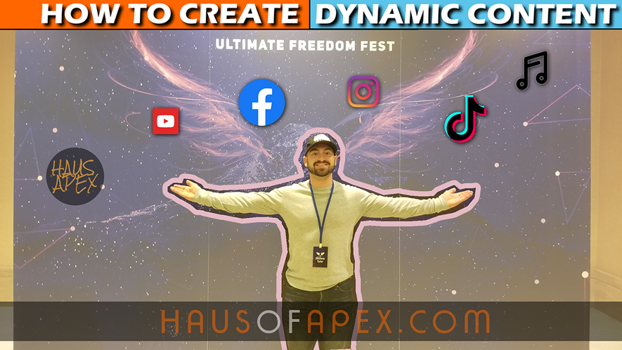 create dynamic content the apex project
