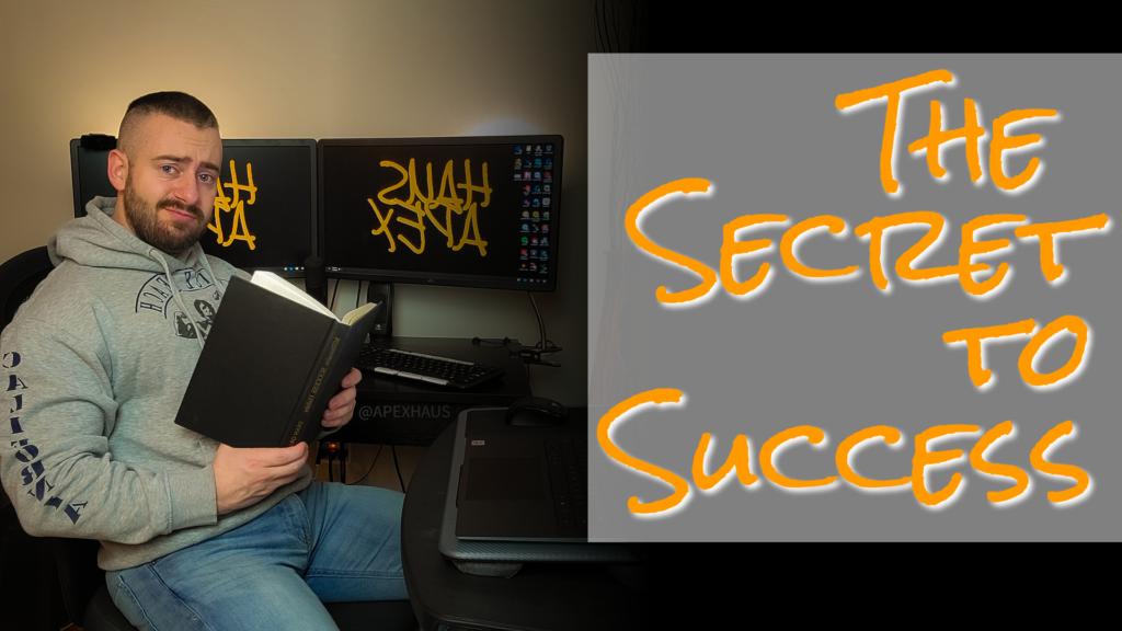 the secret to success yt thumbnail