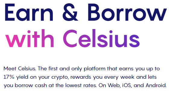 earn with celsius