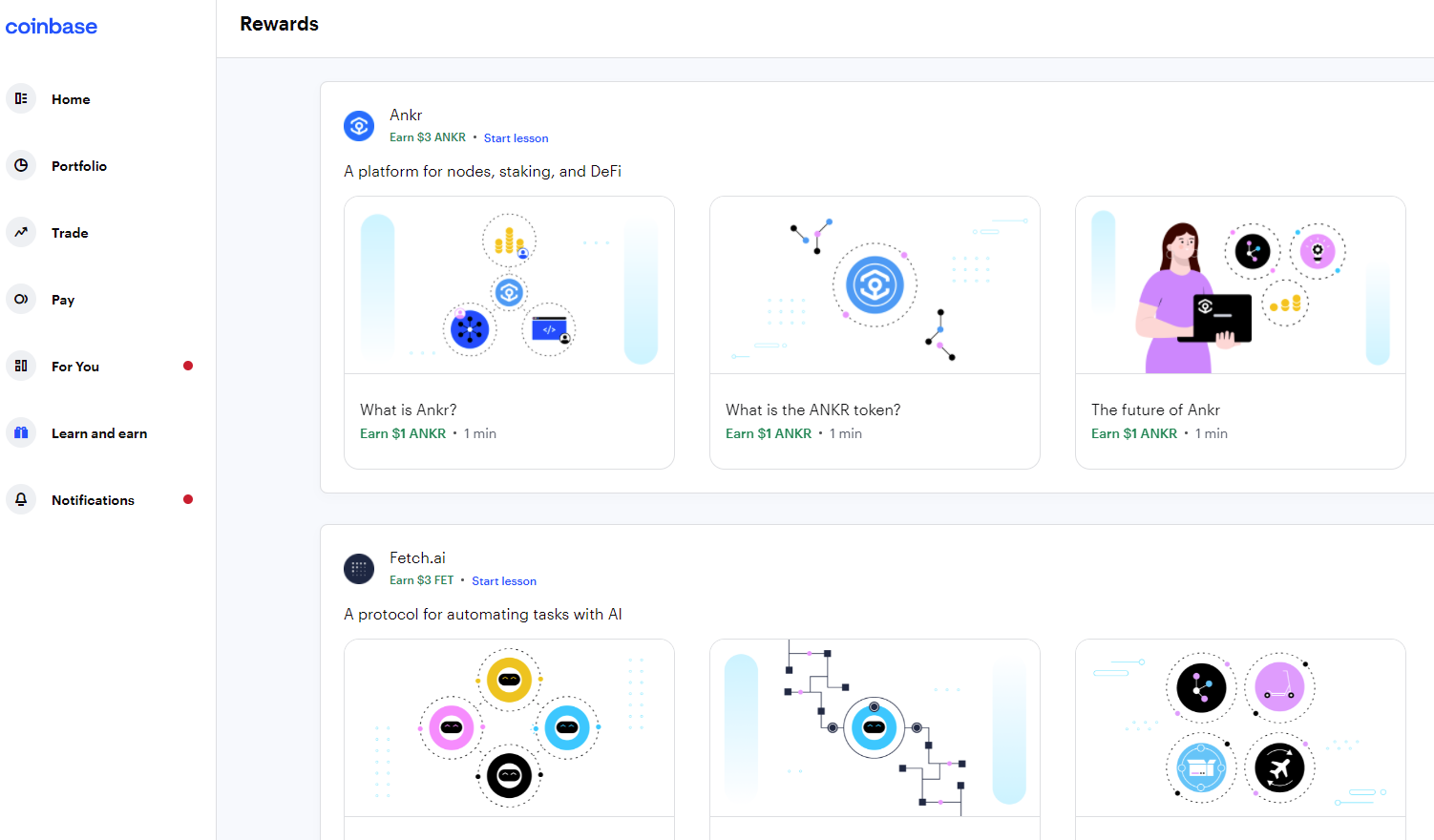 learn with coinbase
